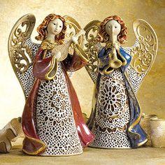 Ceramic Lace Angels