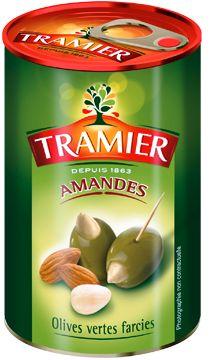 Les olives farcies aux Amandes de Tramier
