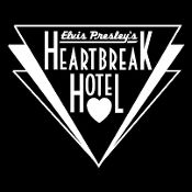 New Custom Screen Printed T-shirt Elvis King Heartbreak Hotel Mu