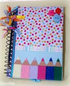 to make for each new foster child who is old enough to draw or write.Something to make for each new foster child who is old enough to draw or write. Foam Crafts, Diy And Crafts, Cover Page For Project, File Decoration Ideas, Diary Decoration, Diy For Kids, Crafts For Kids, Diy Paper, Paper Crafts