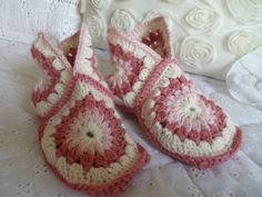 mes petits chaussons rose
