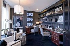 thirty Black and White House Offices That Leave You Spellbound