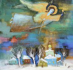 Те, кто всегда рядом... Ангелы в живописи современников - Ярмарка Мастеров - ручная работа, handmade