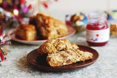Recipe: Stollen Scones [includes recipe for homemade marzipan]