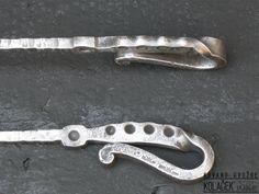 Pribor za kamin od kovanog gvozdja (detalj). Kolacek 1897