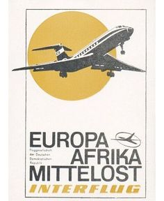 Vintage Boeing Airline Lufthansa Matchbook Made in Federal Republic of Germany
