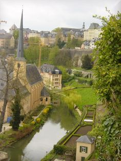 Luxembourg... A small country between France and Belgium