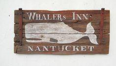 Whaler's Inn Nantucket on Old Door