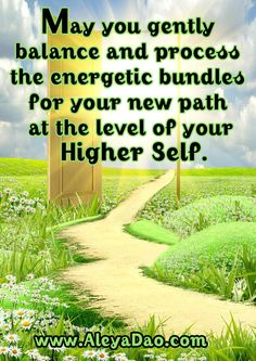 May you gently balance and process the energetic bundles for your new path at the level of your Higher Self. Get a Free week of the Daily Cups of Consciousness meditations. http://www.cupsofconsciousness.com/ Follow me on Facebook www.facebook.com/MeditationTransformation?ref=hl