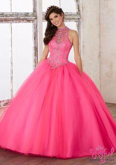 351d21d4bb4 Mori Lee Valencia Quinceañera Dress Style 60011 Vestidos De 2017