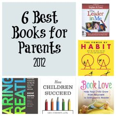 Mom Congress -  6 Best Books for Parents, 2012