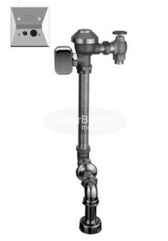 Zurn ZEMS6153AV-WS1 1.6 GPF Hardwired Concealed Sensor Flush Valve for Water Closets