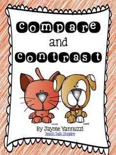 003 Compare and Contrast in First Grade Compare, contrast