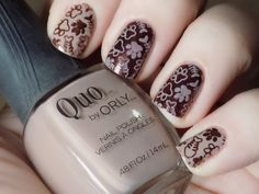 International Cat Day Nail Art - Stamped Cat Paws Nail Art Swatch - Quo Barely…