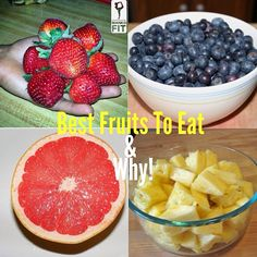 Fruits are delicious, low in fat, high in fiber, and low calories. They are a great way to spice up a snack