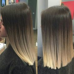 33 dyed hair color ideas for short hair color inspirations for 2019 00047 00007 - Beauty Tips Hair Dye Colors, Ombre Hair Color, Hair Color Balayage, Short Blonde Balayage Hair, Violet Hair, Pinterest Hair, Hair Looks, Hair Lengths, Hair Inspiration