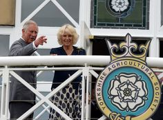 Camilla Parker Bowles Photos Photos - Prince Charles, Prince of Wales and Camilla, Duchess of Cornwall during a visit to The Great Yorkshire Showground on July 14, 2015 in Harrogate, England. - The Prince of Wales