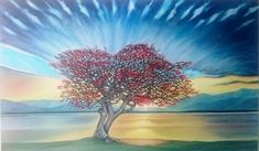 """Dreamtree"" by Elle Monique. Paintings for Sale. Bluethumb - Online Art Gallery"