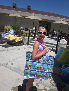 Capri Sun Bag Sun Projects, Projects For Kids, Sun Crafts, Crafts For Kids, Capri Sun, Recycled Art, Minion, Reuse, Hobbies