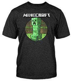Jinx - Minecraft - Camiseta de manga corta - para niño multicolor Style 2 - Retro Creeper #regalo #arte #geek #camiseta