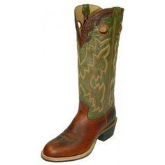 dd82f814cf2d TWISTED X BUCKAROO MENS U TOE BOOT, RUST/OLIVE #boots #cowboyboots