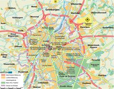 image detail for map of brussels belgium map in the atlas of