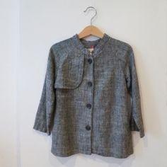 SC Marbled coat [grey]  www.mintandpersimmon.com