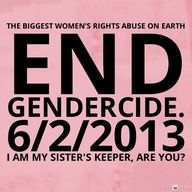 Let's End Gendercide!