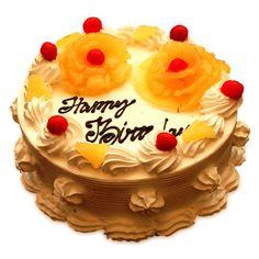 Awesome...... Pineapple cake!! Do you like this??? #CakeNGift #KhushKaroApnoKO