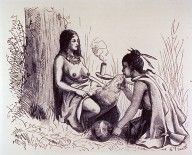 #Birth depiction of the Pawnee people
