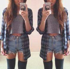 Shorts mit Karo Hemd
