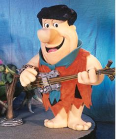 Fred Flintstone animatronic by Sally Corporation