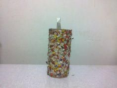 lelaartes2014@gmail.com Lela Artes Artesanato Estojo decorado com confetes