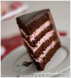 strawberry mousse cake filling (or just serve it up in a glass :)  since justin likes chocholate and its a girl. If you want a chocolate cake...