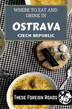 Ostrava, Czech Republic - These Foreign Roads - What To Eat In Ostrava Visiting The Czech Republic? Try not to Skip This Unique City With It's Vibrant Food And Drink Scene Bistro Food, Food Stall, India Food, Yum Yum Chicken, Czech Republic, Places To Eat, Street Food, Great Recipes