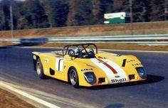 1972 1000 km Paris : Jean-Pierre Beltoise Lola T280 #1, Ecurie Bonnier, Winner (with Larrousse). (ph: AUTODIVA)