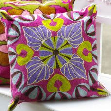 Floral Patterned Pillow Set with Filling