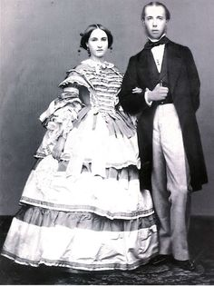 'Imperador Maximilian e Imperatriz Carlota'.