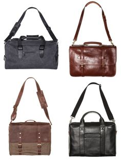 Mens Bags.. he's going to need one when he graduates