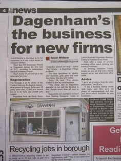 New Business www.chic-dreams.co.uk