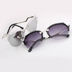 SALE TODAY White Sunglasses mirrored plastic frame Coming soon Accessories Sunglasses
