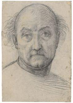 Fra Bartolommeo (1472–1517)  Self-Portrait, 1510/12  Inv. 2167 Z  © Staatliche Graphische Sammlung München