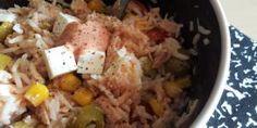 Receta de Ensalada de arroz con mayonesa y atún