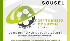 Futsal: 26ª Edição do Torneio de de 28 de Junho a 25 de Julho