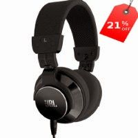 JBL BassLine DJ Style Over Ear Stereo Headphone-Black: Price: Amazon Deal Of The Day