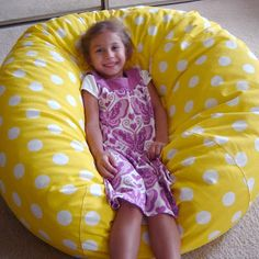 Adult Sized Bean Bag Chair Prepared By Joanna Armour