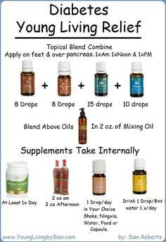 Young Living Essential Oils: Diabetes