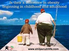 Is their a difference in obesity beginning in childhood and adulthood | Shilpsnutrilife
