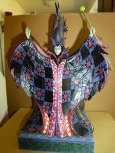 """DISNEY JIM SHORE MALEFICENT AND DRAGON """" CASTING THE SPELL"""""""