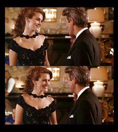 Pretty Woman    Vivian: You're late.  Edward Lewis: You're stunning.  Vivian: You're forgiven.